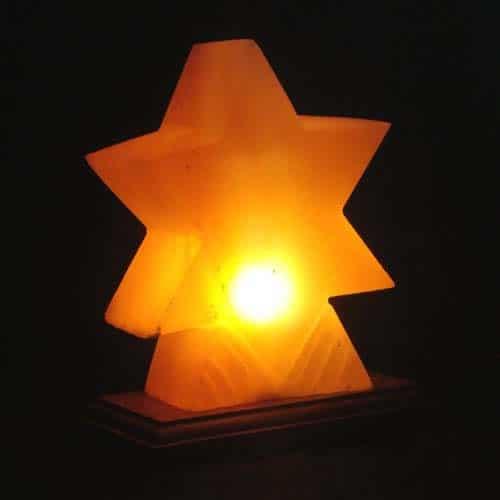 Star Shape Salt Lamps