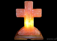 Cross Salt Lamps