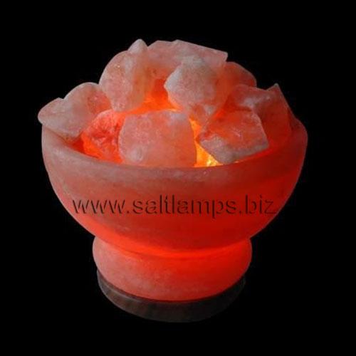 Fire Bowl Salt Lamp