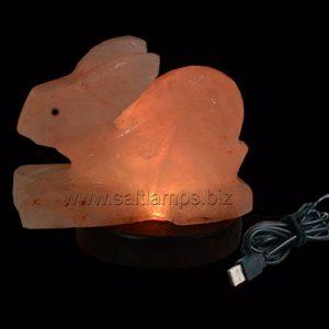 Bunny Salt Lamp